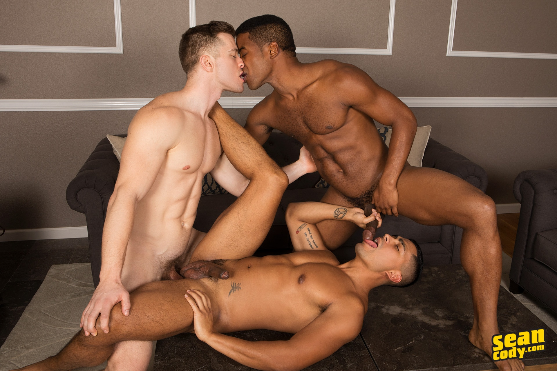 Gay stud is spreading wild pleasures with his hot oral